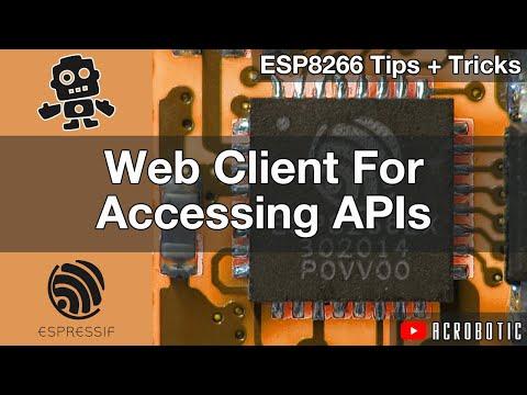 ESP8266 Web Client: Accessing API's Using Arduino IDE