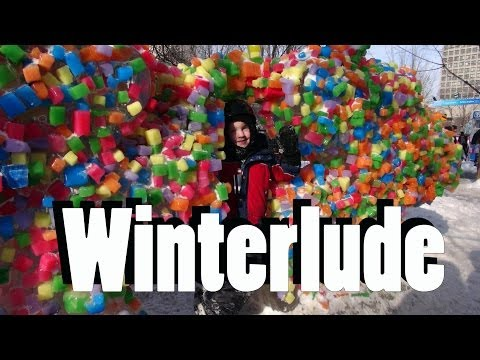 Things to do with Kids in Ottawa, Canada: The Winterlude Festival - a Video Tour