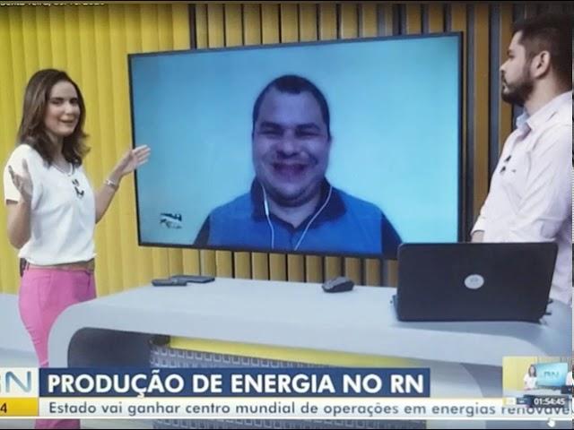 Bom Dia RN/InterTV - RN ganha centro mundial de operações em energia eólica