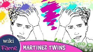 Draw My Life Martinez Twins - Wiki, Age, Height