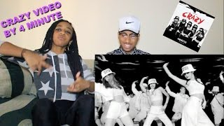 Couple Reacts : K-POP Group  4MINUTE - 미쳐(Crazy) Reaction!!
