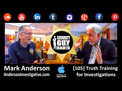 [105] Truth Training for Investigators with Mark Anderson of AndersonInvestigative.com