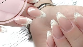 видео Наращивание ногтей гелем: акриловые, френч дизайн
