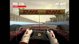 European Grand Prix - F1 2010 - Full Race - Ferrari - Victory - Legend