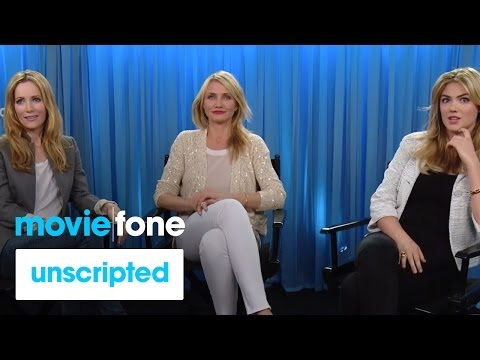 'The Other Woman' | Unscripted | Cameron Diaz, Kate Upton, Leslie Mann