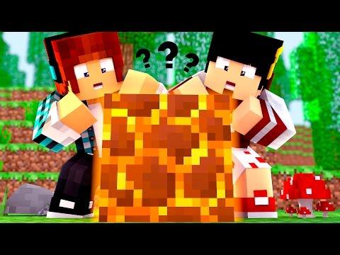 Minecraft Origem #11 - O NOVO BLOCO DO MINECRAFT  !!