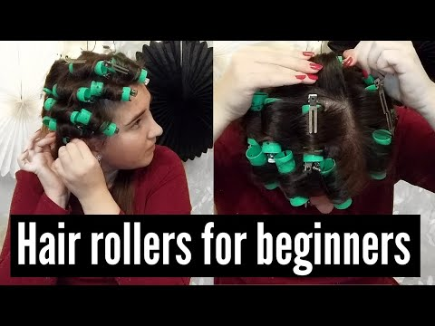 HOW TO CURL HAIR WITH ROLLERS THE RIGHT WAY: HOW TO CURL YOUR HAIR WITHOUT CURLING IRON