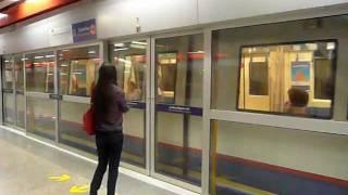 バンコクMRTカムペーンペット駅入線 Bangkok MRT Kamphaeng Phet