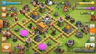CLASH OF CLANS-LAYOUT PARA CV 5 DE PUSH ( CANAL DR BR FT. CANAL DO KAWAN)