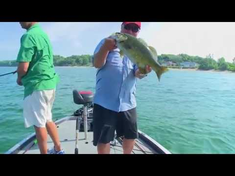Topwater Smallmouth on Erie