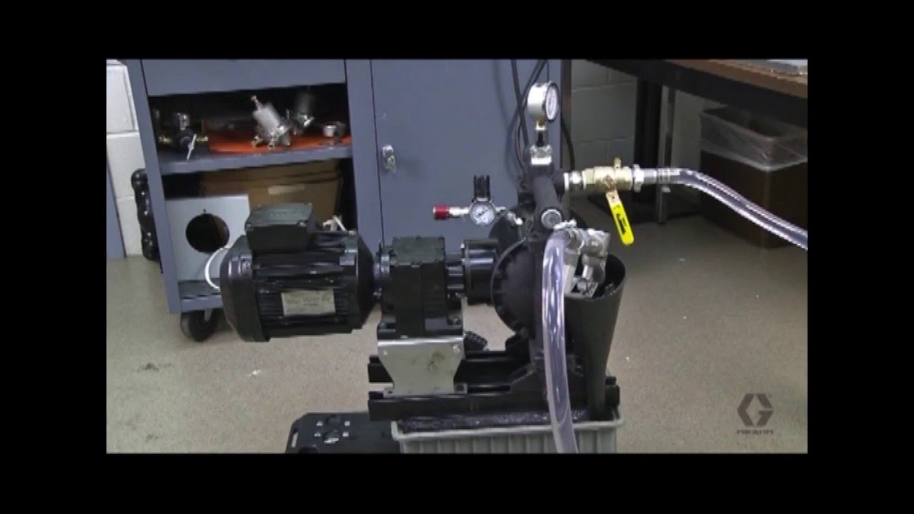 Graco husky 1050e electric diaphragm pump demonstration youtube graco husky 1050e electric diaphragm pump demonstration ccuart Images