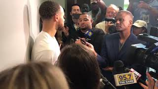 Stephen Curry on bouncing back from a tough Game 4 loss