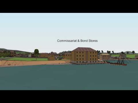 Virtual Tour of Hobart Town c1828