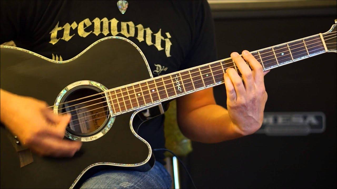 Breaking Benjamin Rain Acoustic Guitar Cover Youtube