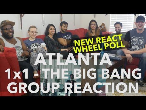 ATLANTA - 1x1 The Big Bang - Group Reaction + Wheel Spin