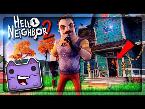 ПРИВЕТ СОСЕД 2 ВЫШЕЛ! АЛЬФА 1 И НОВЫЙ ОТКРЫТЫЙ МИР ▶️ Hello Neighbor 2 Alpha 1