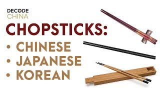 How to use chopsticks correctly step by step: Chinese VS Japanese VS Korean - Decode China