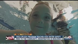 WATCH: YMCA offers swim lessons before summer