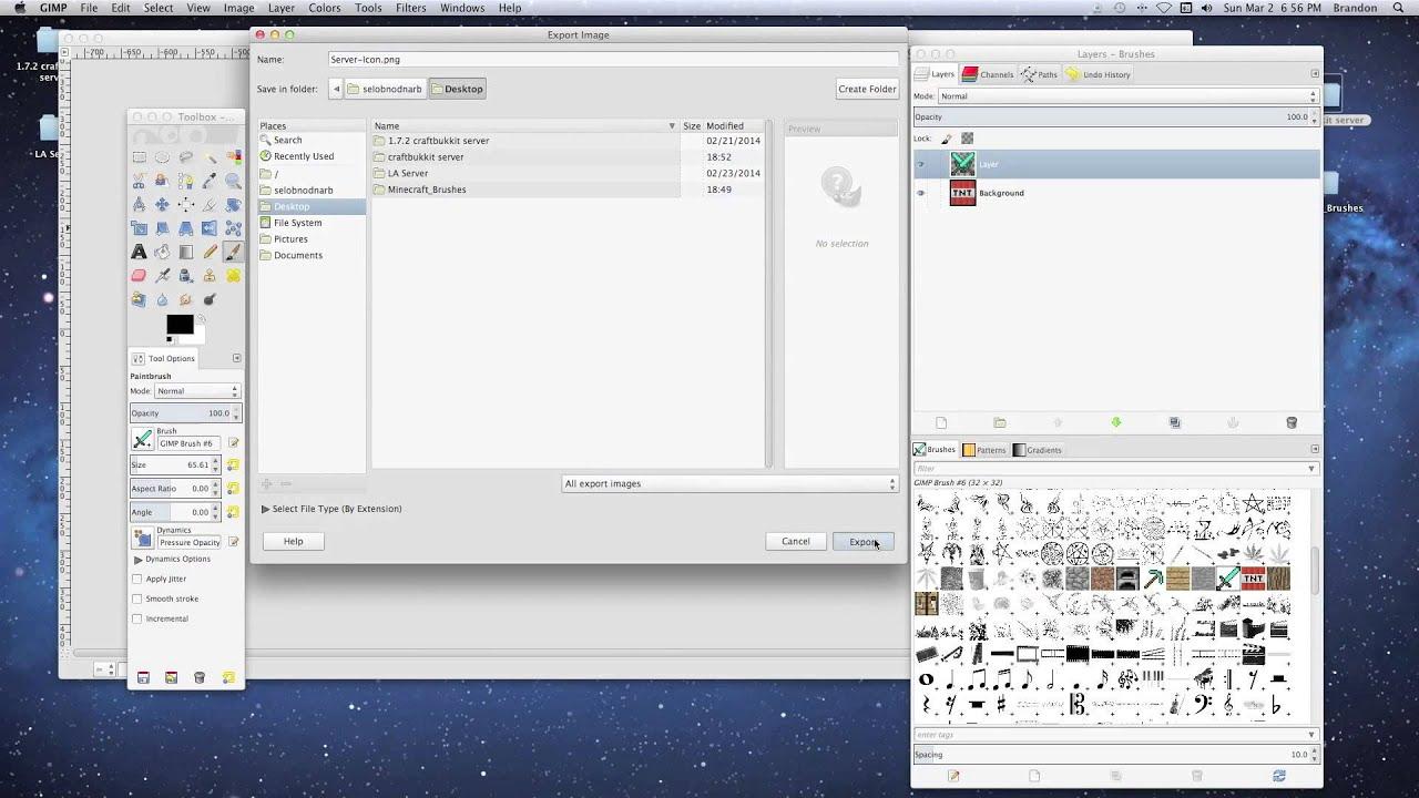how to start a minecraft server mac