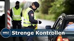 CORONA-GRENZKONTROLLEN: Bundespolizei verzeichnet über 800 Haftbefehle und tausende Straftaten