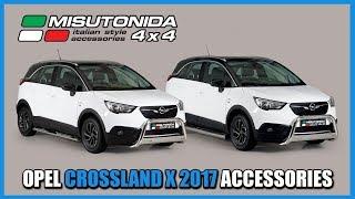 Misutonida 4x4: Opel crossland X 2017 accessories