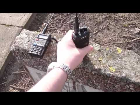 DMR vs FM on 70cm UHF amateur radio bands