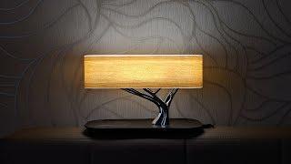 HomeTree Light - лампа, беспроводная зарядка и колонка Harman/Kardon