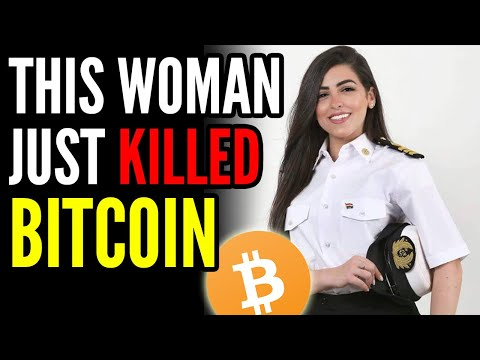 Woman Crashes Cargo Ship KILLING Bitcoin and COLLAPSING the Economy, The Suez Canal Incident