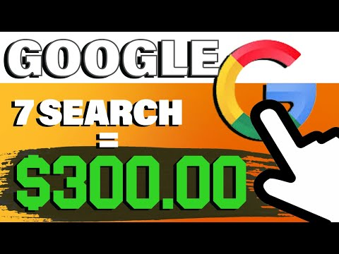 Make $1200! JUST Searching On Google   1000% WORKING (Make Money Online 2021)