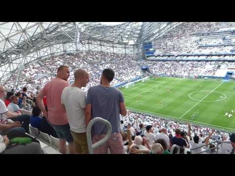 England Fans 'Its coming Home .' England v Russia 11 June 2016 Marseille
