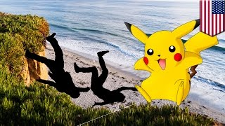 Pokémon Go: Two men fall off cliff in California while trying to catch cartoon monsters - TomoNews