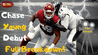 🎥 Chase Young Rookie Debut FILM SESSION! How He Impacts EVERY Play! The Things That Go Unnoticed! 🎥