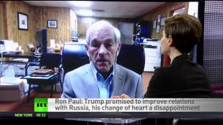 Trump's policy unstable, depends on who's advising him at any moment - Ron Paul