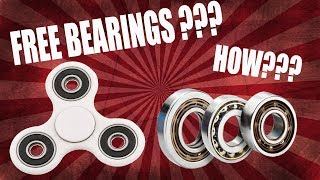 How to Get Bearings for Fidget Spinners for FREE ✔