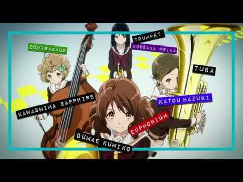 "Hibike! Euphonium - ED ""Tutti! (トゥッティ!)"" by Kitauji Quartet"