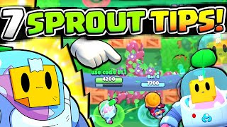 7 TIPS TO DOMINATE WITH SPROUT WHEN YOU UNLOCK HIM + RELEASE DATE! NEW BRAWLER GUIDE!!