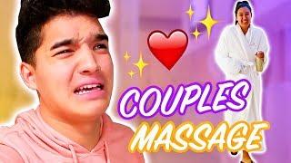 Boyfriend Girlfriend Couples Massage!