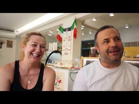 Grecia, intervista a gelataio italiano - Roberto - parte 1