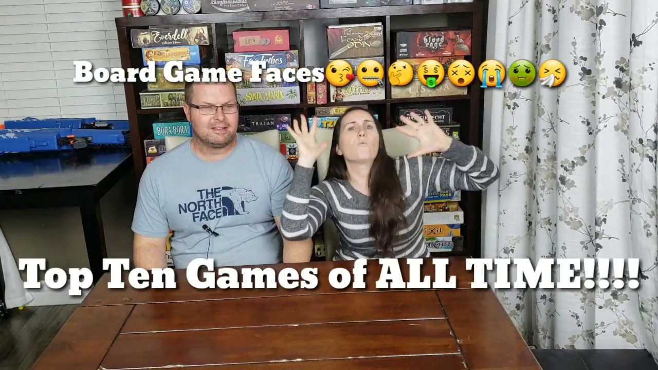 Top Ten Board Games of all time