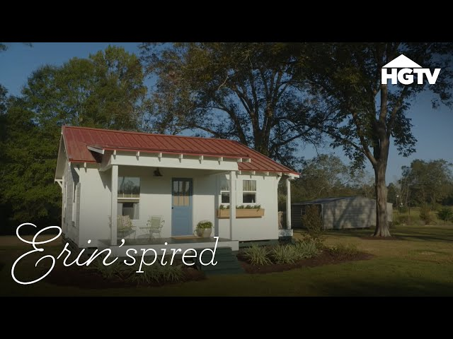 Erin\'spired | A Tiny Home and a Big Renovation - HGTV