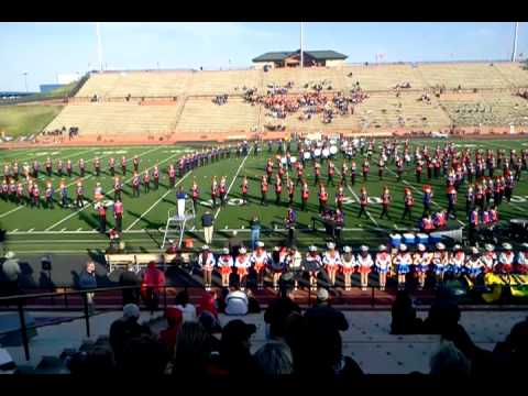 San Angelo Central HS Band @ Amarillo, 11/2012