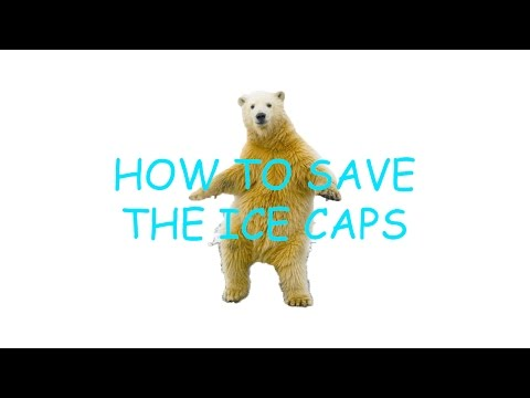 HOW TO SAVE THE POLAR ICE CAPS