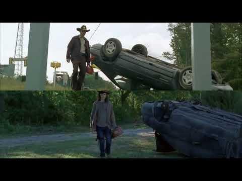 The Walking Dead: Rick and Carl 1x01 vs. 8x01