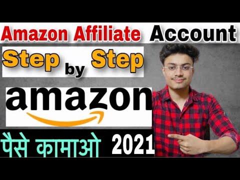 amazon affiliate account kaise banaye | Earn money from Amazon Affiliate account
