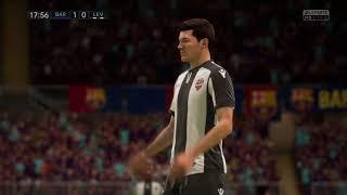 FIFA 18 FC Barcelona vs Levante UD