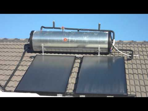 Solar Water Heating - Part 2: Evacuated tubes and flat plate collector solar geysers