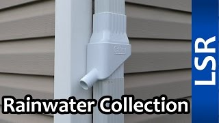 Easy Rainwater Collection - Oatey Mystic