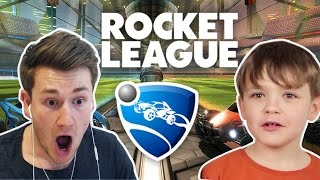 BROTHERS PLAY ROCKET LEAGUE