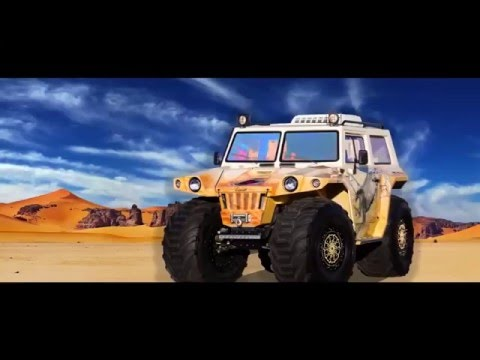 MAZ-MAN Snow and swamp-going vehicle of BME-1015 (Overkamer Hunta) Official review