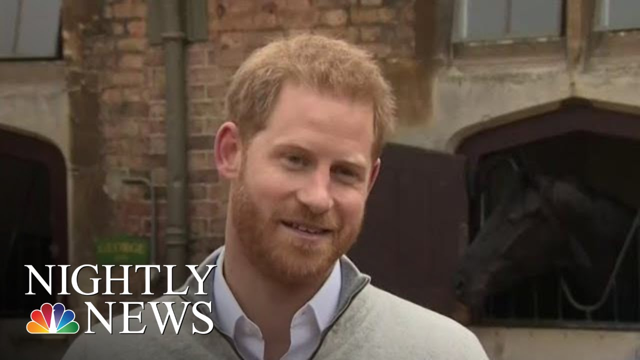 Prince Harry And Duchess Meghan Welcome Baby Boy | NBC Nightly News